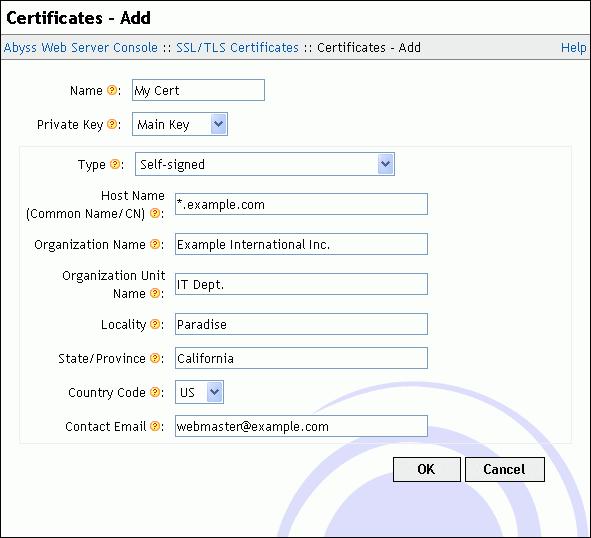 Ssltls Certificates